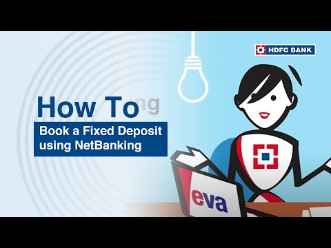 How to book a FD using NetBanking