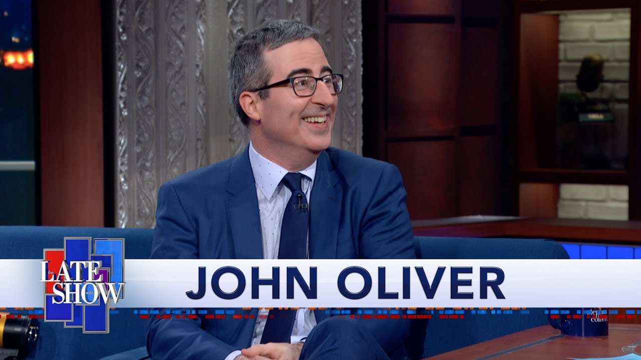 """John Oliver's Quest For U.S. Citizenship Culminated In An """"Utterly Petrifying"""" Citizenship Test"""