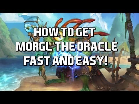 How To Get 'Morgl the Oracle' Fast and Easy!  -Hearthstone