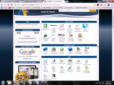 Find php.ini and .htaccess Files on Hostgator