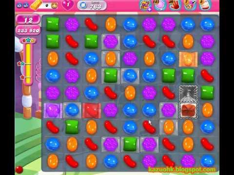 Candy Crush Saga level 763 (3 star, No boosters)