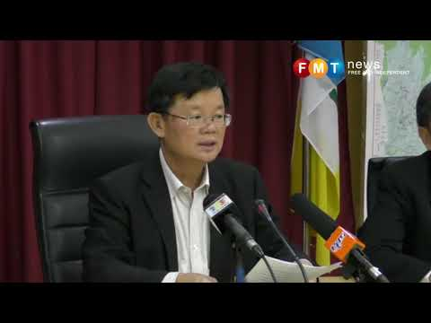 Penang CM, exco members to donate 10% pay to federal govt fund