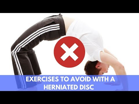 What Exercises Not to Do with a Lumbar Herniated Disc