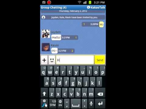 How to Group Chat in KakaoTalk (Android)