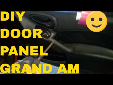Remove and Install Door Panel On A Pontiac Grand Am
