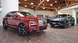 Doug DeMuro Compares the Rolls-Royce Cullinan and the Lamborghini Urus for the First Time