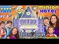 MINIONS HOTEL TOUR Coolest Room Ever Savage Dad Universal Studios Resort FUNnel Summer FL