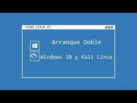Como Instalar Kali Linux 2018.2 Dual boot con Windows 10 pro en Español