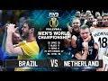 Brazil Vs Netherlands Volleyball Highlights Mens World Championship 2018