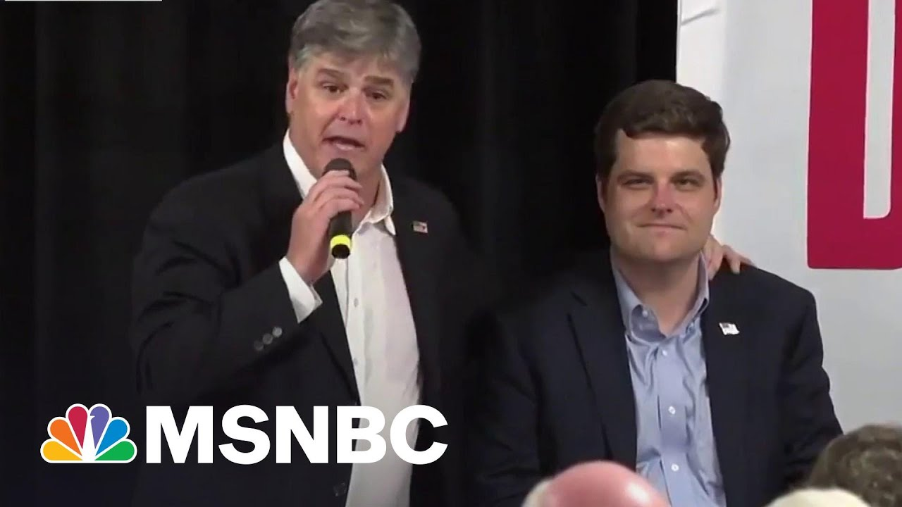 Hannity Goes Silent On 'Friend' Gaetz Amidst Sex Trafficking Probe | The Beat With Ari Melber