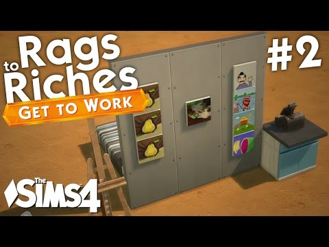 The Sims 4 Get To Work - Rags to Riches - Part 2