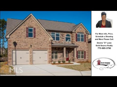 New Construction Homes in, McDonough, GA Presented by Dionne