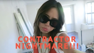 FOUND A DEAD BODY & Contractor NIGHTMARE - My New House | Song of Style