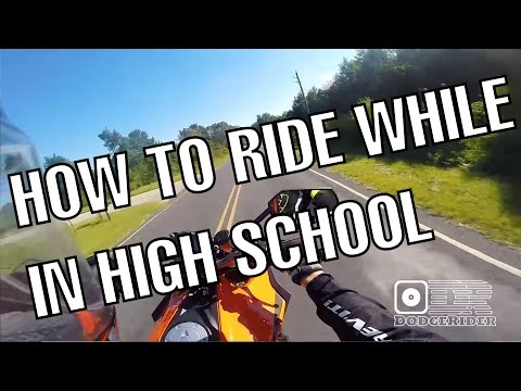 Buying a Motorcycle in High School