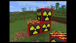 Minecraft Mega Nuke, Blowing Up Minecraft Blocks With Explosives