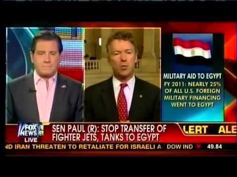 Rand Paul: We Don't Have To Pay England To Be Our Friend, Why Do We Have to Pay Egypt?