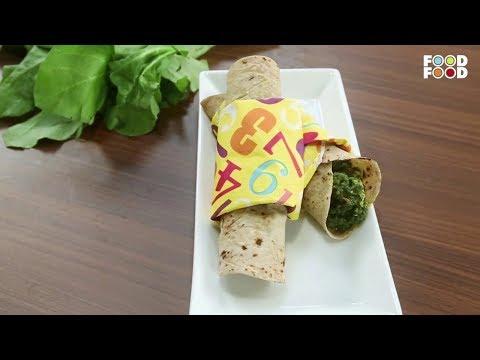 Palak Butter Chicken Wraps | Winter Treats | Chef Amrita Raichand | FoodFood
