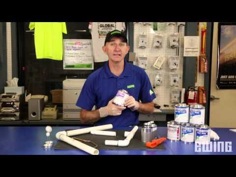 Proper Technique for Gluing PVC Joints
