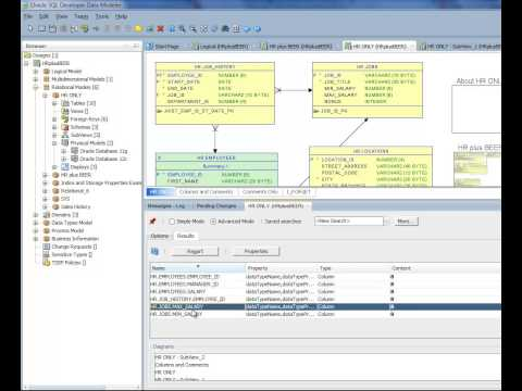 Oracle SQL Developer Data Modeler: Search & Replace