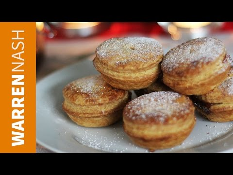 How to make Mince Pies - With lovely Flaky Pastry - Recipes by Warren Nash