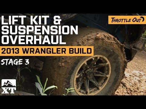 Jeep Wrangler (2007-2017 JK) Lift Kit, Big Tires & Off-Roading Review & Install