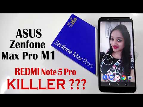 ASUS ZENFONE MAX PRO M1 Unboxing & Overview in Hindi