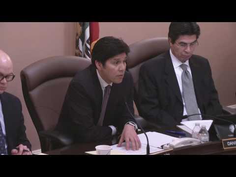 Anti-Gun-Owner A.G. Nominee Xavier Beccera; CA State Senate Confirmation hearing