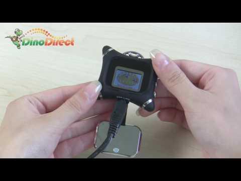 1.1-inch LCD Digital Pocket Photo Frame, Black - dinodirect
