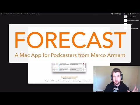 How to Add Chapters to Your Podcast Episode with Forecast (a Mac app by Marco Arment)