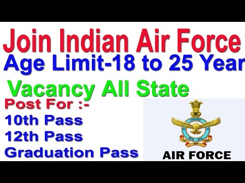 Join Indian Air Force  Group C | Fill Application Now 2018