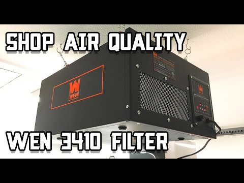 Installing My WEN 3410 Filter // Shop Air Filtration