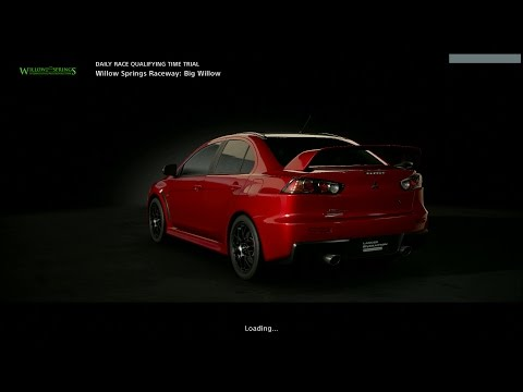 GT Sport - Gameplay - Willow Springs Raceway - Lancer Evolution [ 1080p 60fps ] [ PS4 Pro ]