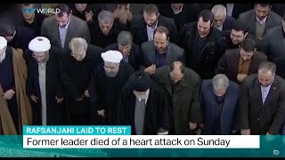 Rafsanjani Laid to Rest: Funeral held for former president of Iran