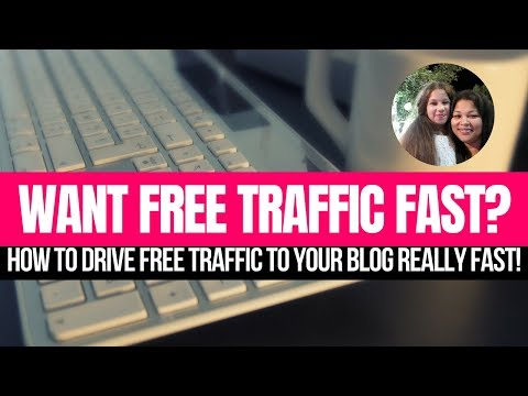 Blog Traffic| How To Drive Free Traffic To Your Blog