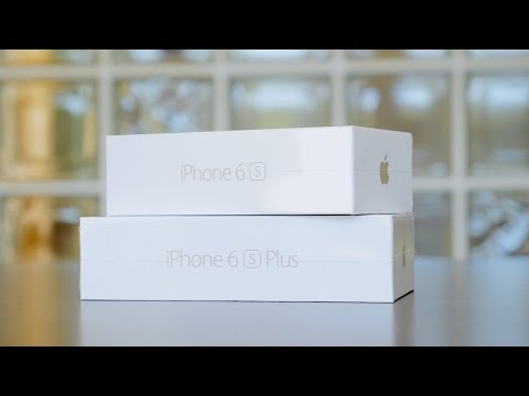Rose Gold iPhone 6s Unboxing