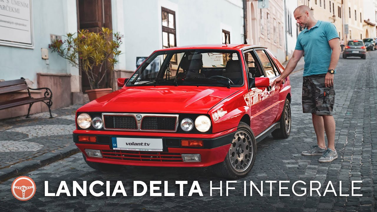 Lancia Delta HF Integrale je stále úžasné auto - volant.tv