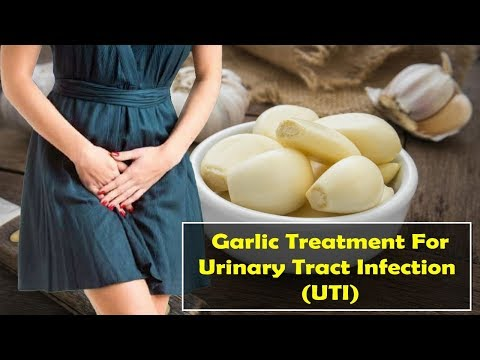 How To Garlic Treatment For Urinary Tract Infection (UTI)
