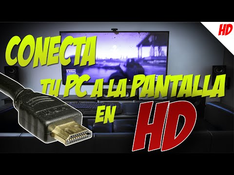 Tutorial - Diferente Formas de Conectar la PC a la TV y CALIDAD en HD