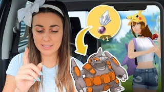 HOW TO GET THE MOST SINNOH STONES! Pokémon GO   ZoeTwoDots