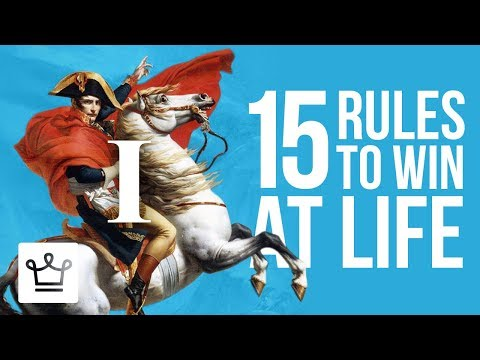 15 Rules To Win At Life (Part 1)
