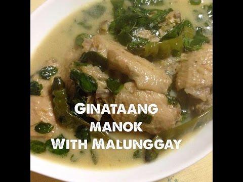 Ginataang Manok with Malunggay