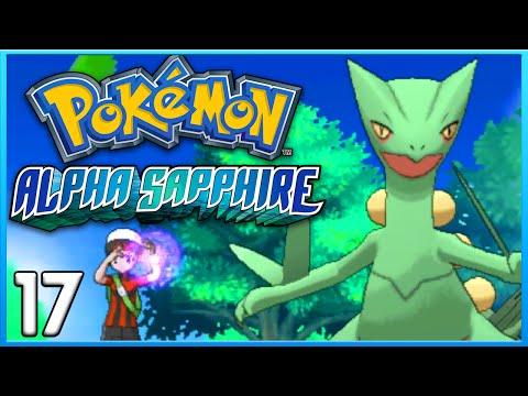 Pokemon Alpha Sapphire Part 17 - Mega Sceptile!!! ORAS Gameplay Walkthrough