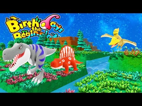 DO YOU WANT TO PLAY GOD? We Give Rise to Pokemon Dinosaurs - Birthdays the Beginning Gameplay Part 1