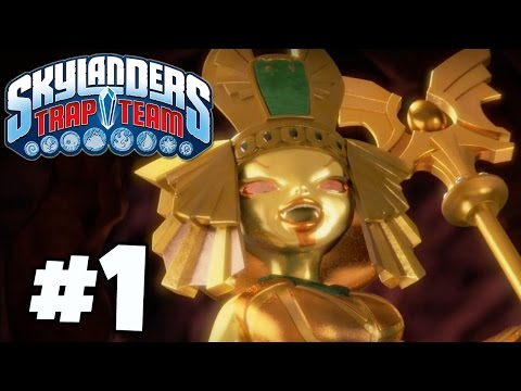 Skylanders Trap Team: Ch. 1 Soda Springs - Part 1 (Gameplay, Commentary) Xbox One