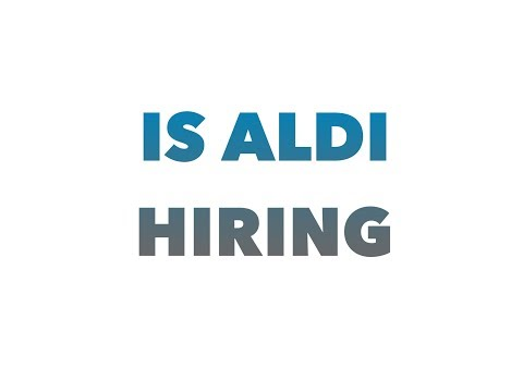 Is Aldi hiring in my area