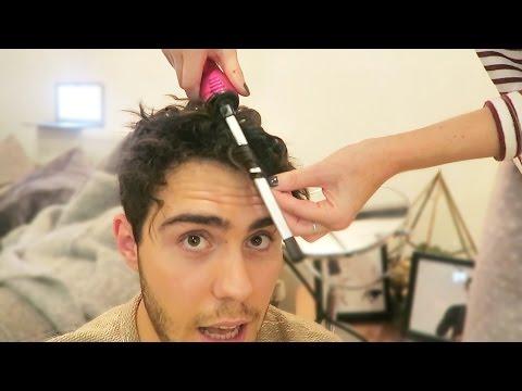 ZOE CURLS MY HAIR...