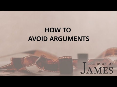 How to Avoid Arguments