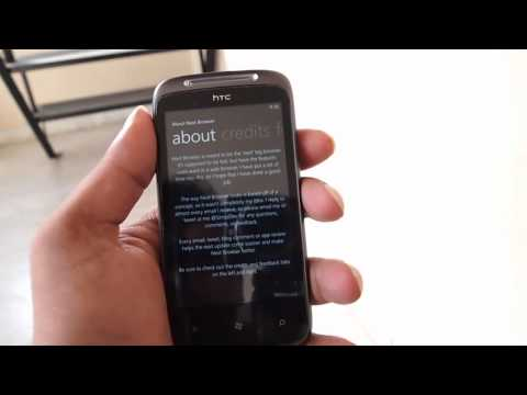 Next Browser for Windows Phone Video Demo