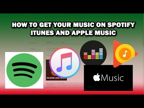 How to Get Your Music on to Spotify, iTunes, and Apple Music (and all the rest of them too)