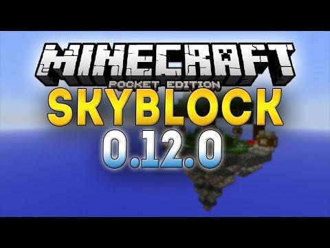 Minecraft PE 0.12.0 - SKYBLOCK SURVIVAL - Ep. 1